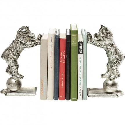 Serre-livres Ours set de 2 Kare Design