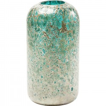Vase Moonscape turquoise 31cm Kare Design