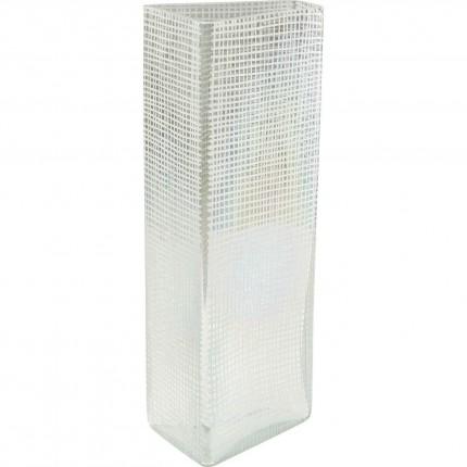 Vase Skyscraper blanc 44cm Kare Design