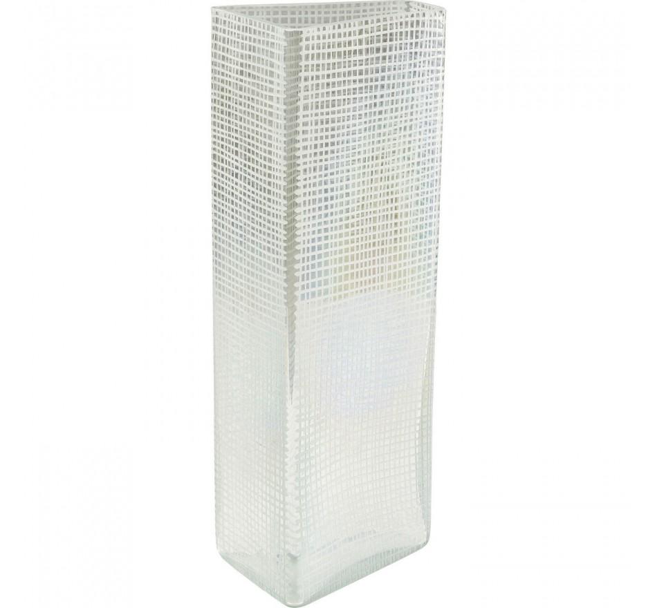 Vase Skyscraper clair 44cm Kare Design