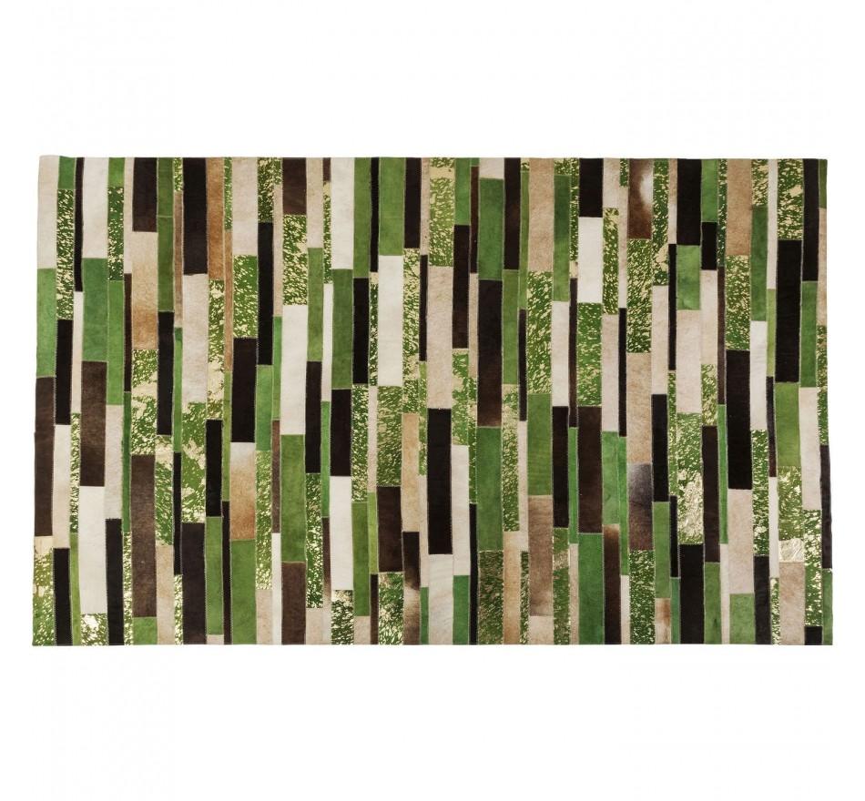 Tapis Brick vert 170x240cm Kare Design
