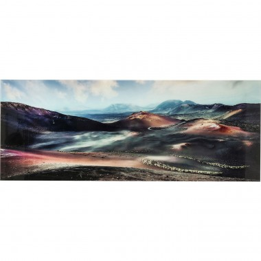 Tableau en verre Death Valley 70x180cm Kare Design