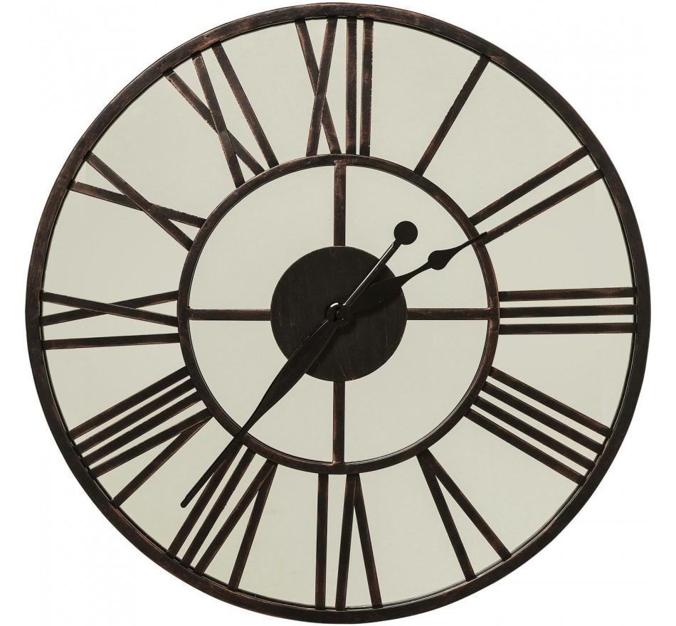 Horloge murale Factory miroir 60cm Kare Design