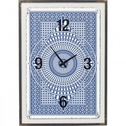 Horloge murale House of Cards Kare Design
