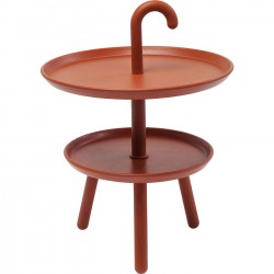 Table d'appoint Jacky orange 42cm Kare Design