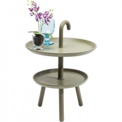 Table d'appoint Jacky verte 42cm Kare Design