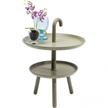 Table d'appoint Jacky verte 42cm Kare Design