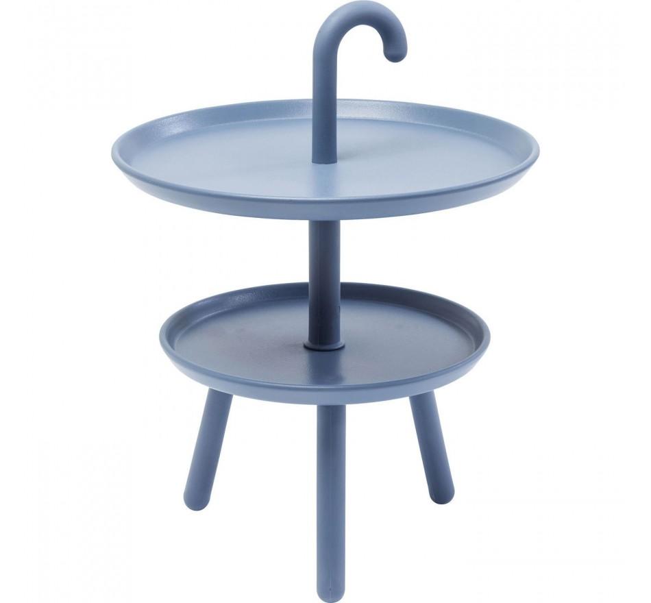 Table d'appoint Jacky bleue 42cm Kare Design