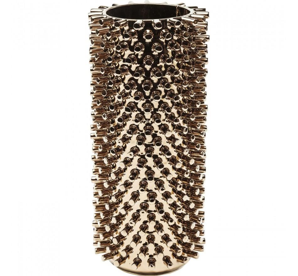Vase Rivets cuivre 31cm Kare Design