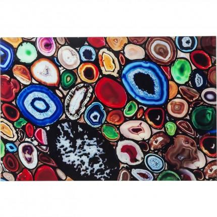 Tableau en verre Achat Colore 100x150cm Kare Design