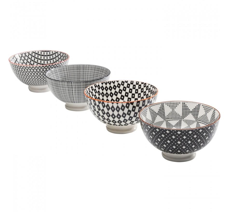 Coupe Art Cuisine 11cm assorti 4/set Kare Design