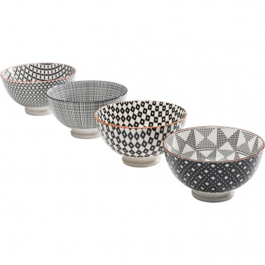 Coupe Art Cuisine 11cm assorti 4/set Kare Design