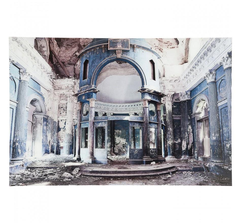 Tableau en verre Old Grand Hall 60x90cm Kare Design