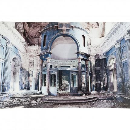 Tableau en verre Old Grand Hall 120x80cm Kare Design