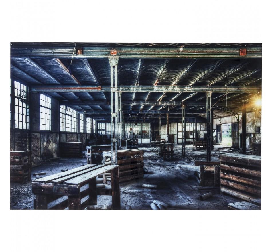 Tableau en verre Factory 100x150cm Kare Design