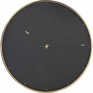 Horloge murale Into The Dark 28cm Kare Design