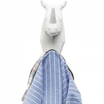 Portemanteau Rhino blanc Kare Design