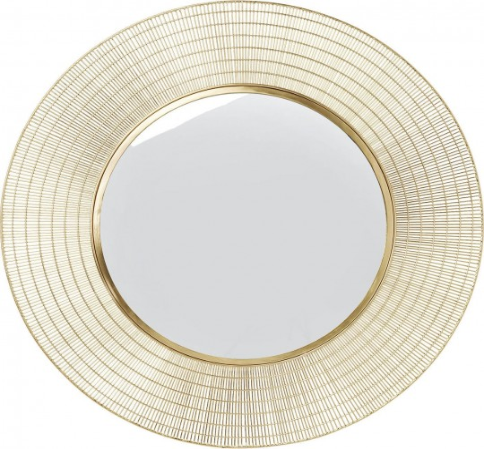 Miroir Nimbus laiton 90cm Kare Design