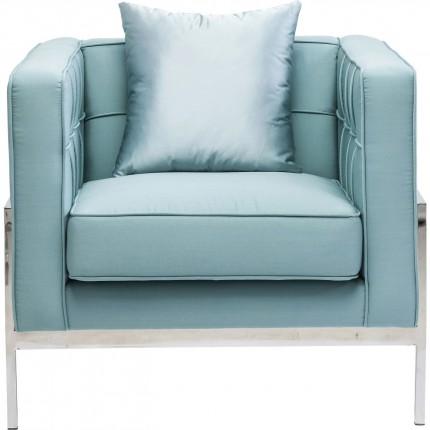 Fauteuil Loft turquoise Kare Design