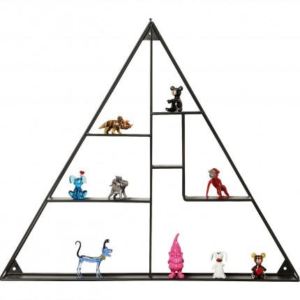Etagère murale Geometrix pyramide Kare Design
