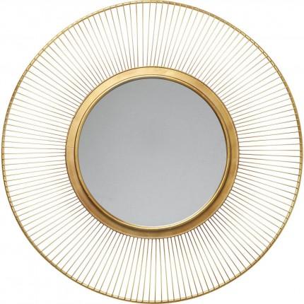 Miroir Sun Storm doré 93cm Kare Design