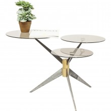 Table basse Bonsai Tre gunmetal Kare Design