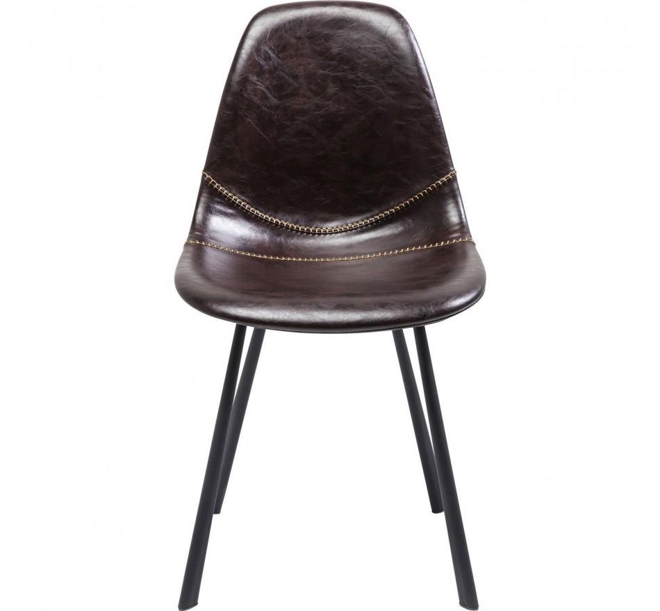 Chaise Lounge marron Kare Design