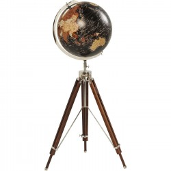 Déco Globe Earth noir Kare Design