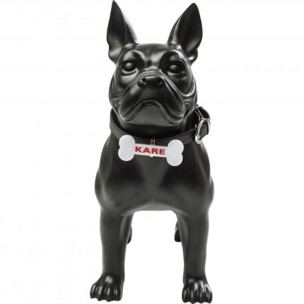 Déco chien Toto noir 44cm Kare Design