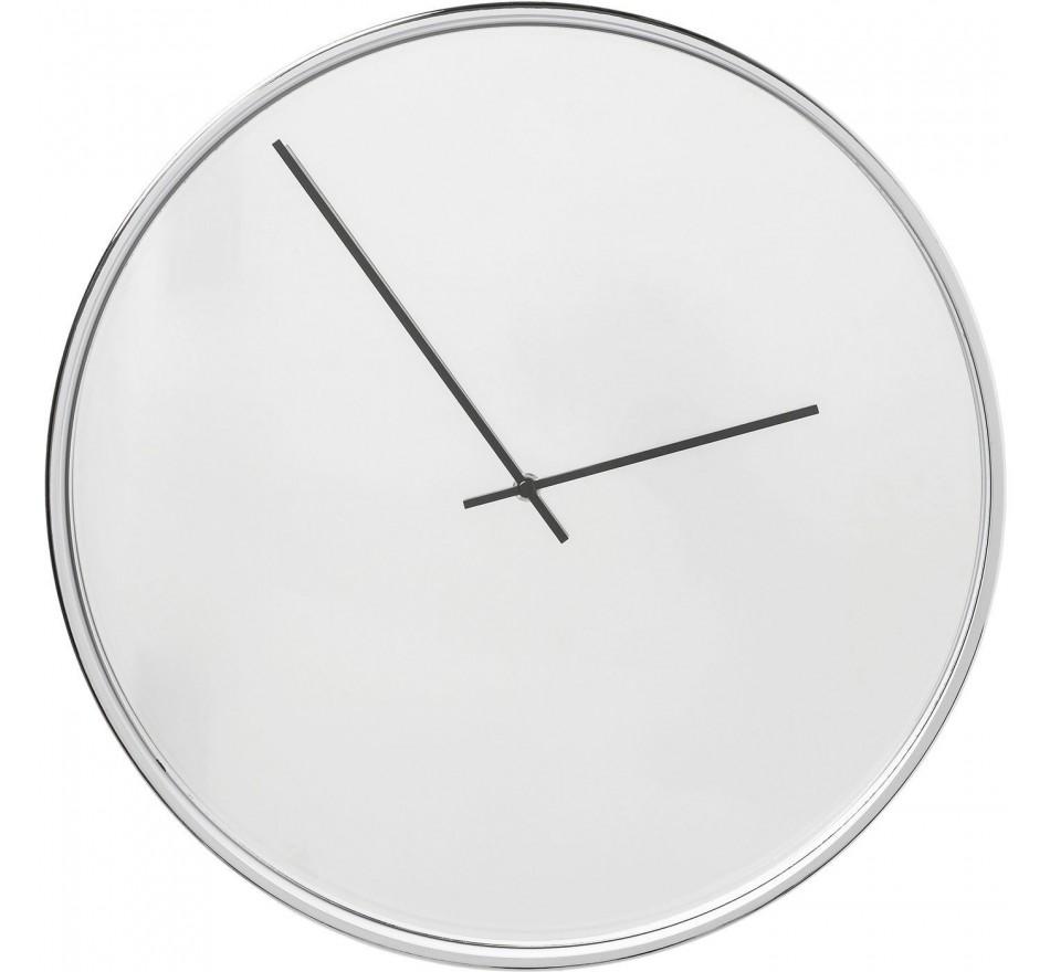 Horloge murale Timeless miroir 40cm Kare Design