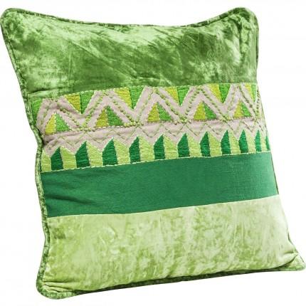 Coussin Green Ornaments 45x45cm Kare Design
