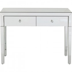 Console Luxury argent Kare Design