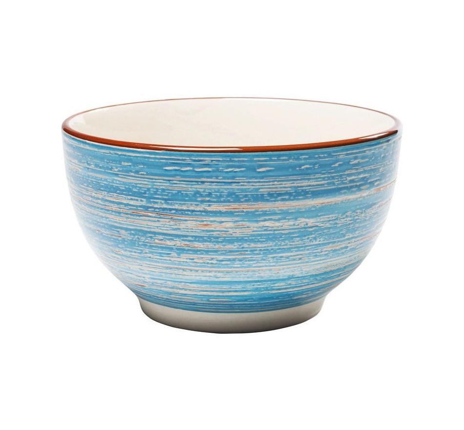 Bols Swirl Blue 14cm set de 4 Kare Design