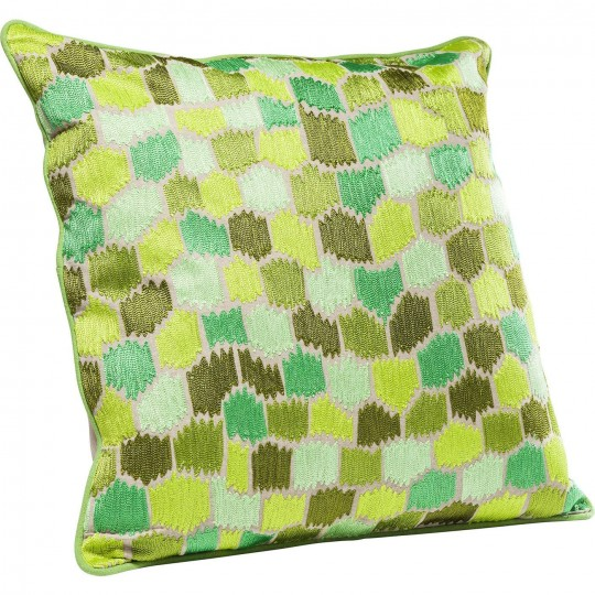 Coussin Green Ornaments 60x60cm Kare Design