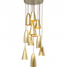 Suspension Soho 12 Kare design