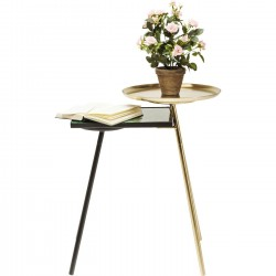 Table d'appoint Plateau Duo Kare Design
