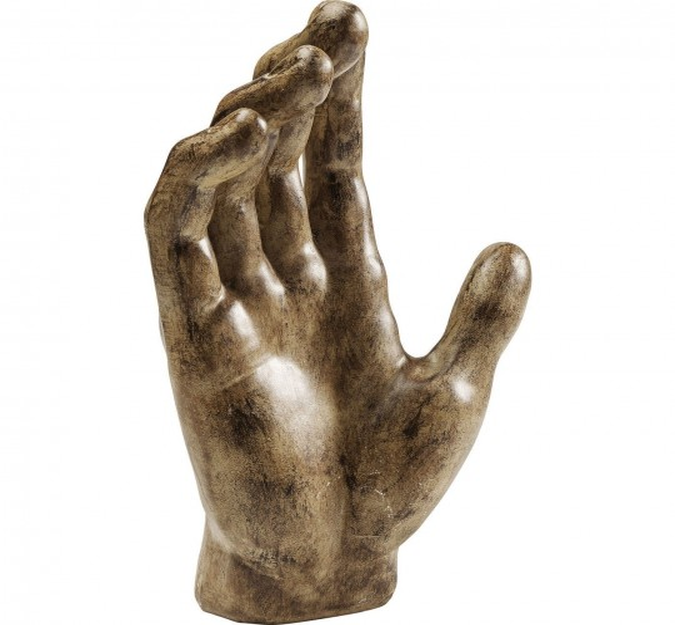 Déco Mano bronze Kare Design