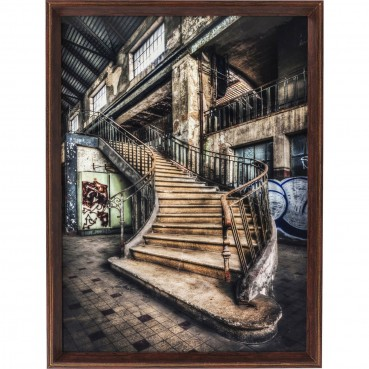 https://www.kare-click.fr/41818-thickbox/tableau-frame-old-staircase-80x60cm-kare-design.jpg