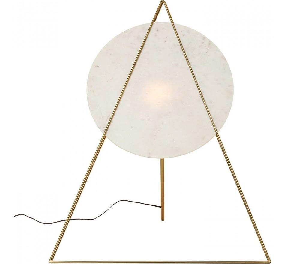 Lampadaire Triangle marbre White Kare Design