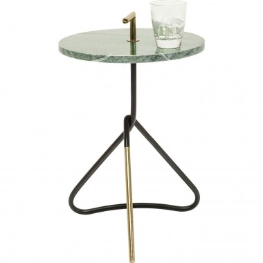 Table d'appoint Doblado verte 37cm Kare Design