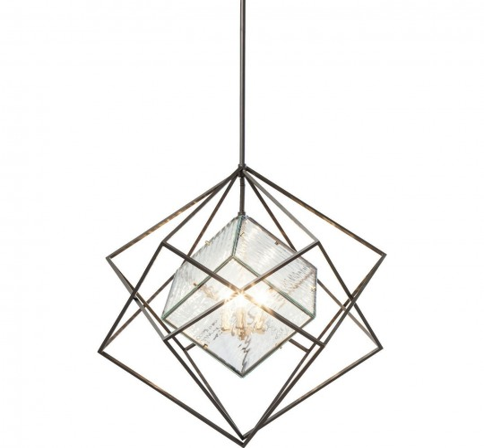 Suspension Prisma Ice cube 82cm Kare Design