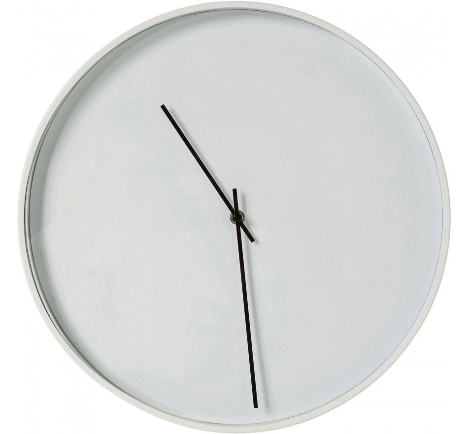 Horloge murale Timeless blanc 40cm Kare Design