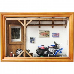 Vitrine décorative Garage Motorbike Kare Design