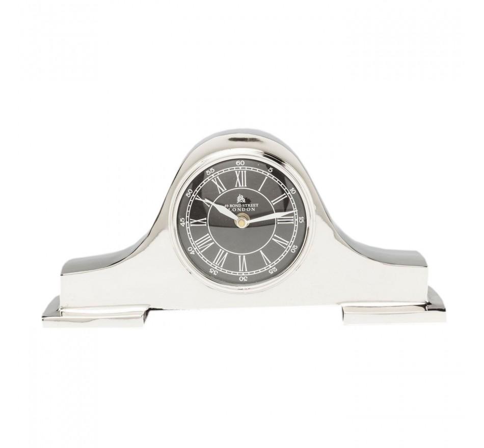 Horloge à poser Fireplace argenté Kare Design