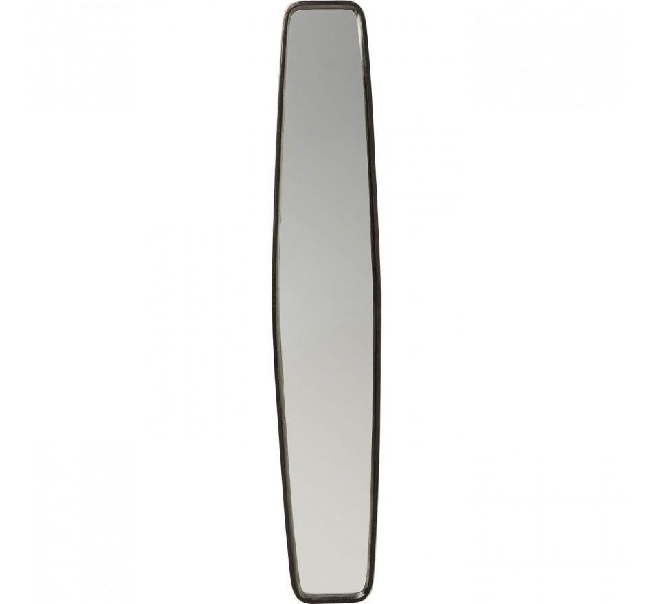 Miroir Clip Black 177x32cm Kare Design