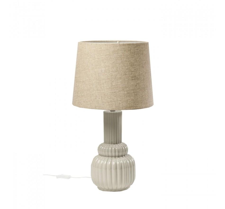 Lampe de table Riffle gris Kare Design