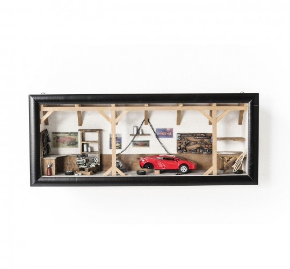 Vitrine décorative Garage Cabrio Kare Design