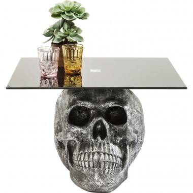 Table basse Skull Rockstar by Geiss 60x60cm Kare Design