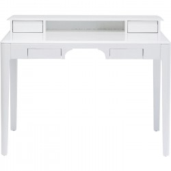 Bureau Brooklyn blanc 110x70cm Kare Design