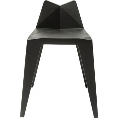 Chaise Triangle noire Kare Design